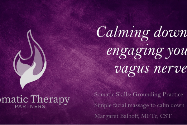 Calming Down By Engaging Your Vagus Nerve