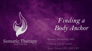 Finding a Body Anchor